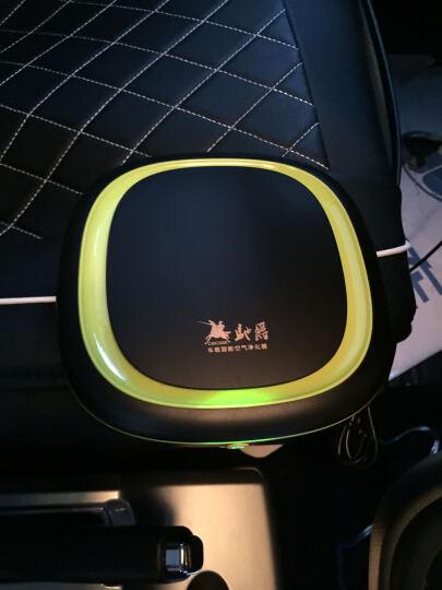 车载空气净化器 汽车便携式负离子净化器 车内除异味甲醛pm2.5 滤网1对/2个 豪华款 晒单图