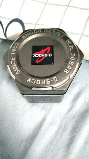 【放心购】卡西欧(CASIO)手表 G-SHOCK系列直感操作旋转表冠大表盘运动防水男表 黑金色GA-400GB-1A9 晒单图