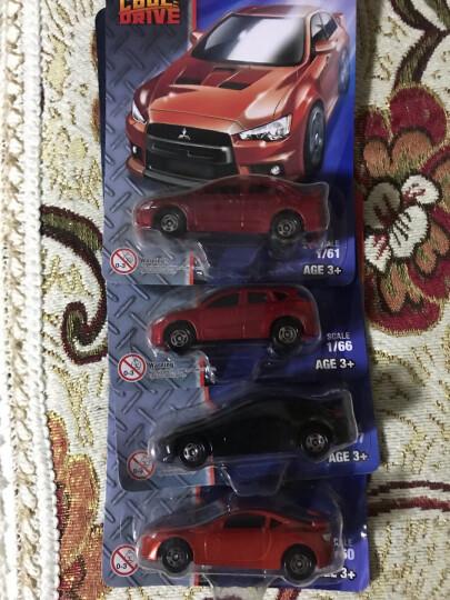 【动漫城】TOMY多美卡酷跑系列合金 儿童男孩迷你小汽车模型玩具车 TCD15 三菱橙红 晒单图