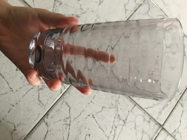 克芮思托 NC-8547玻璃杯果汁杯饮料杯茶杯大号外圆彩虹水杯450毫升六只装套装 晒单图