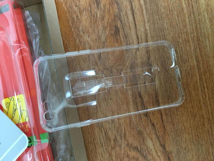 浩酷(HOCO) 指环支架手机壳保护套 适用于苹果iPhone6/6S/plus 6Splus5..5英寸-纤影系列-黑色 晒单图