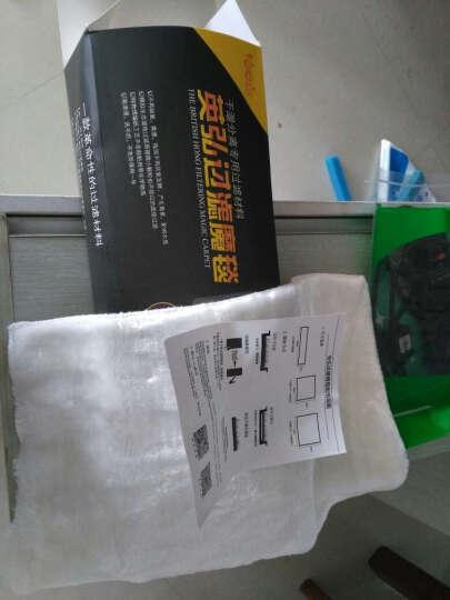 格志(Grozziie)英弘鱼缸过滤棉生化棉高密度水族箱材料过滤器白棉干湿分离过滤棉 下过滤45*55cm(盒装) 晒单图