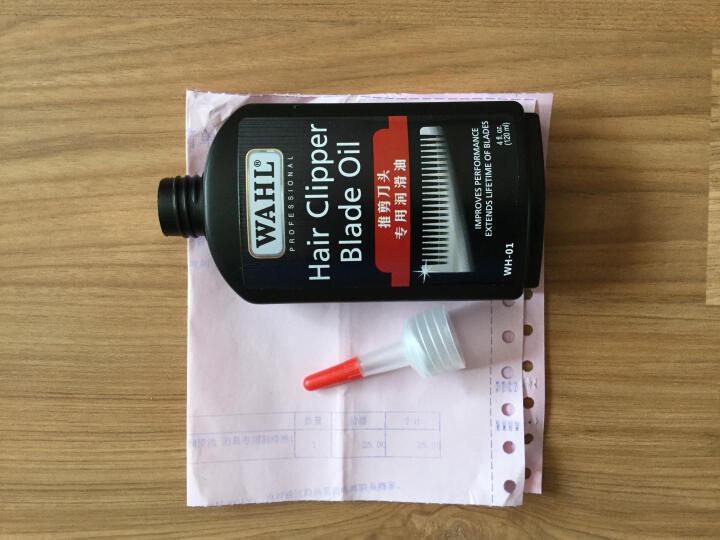全新升级 美国华尔万能润滑油 电推剪 理发器专用润滑油 刀具专用润滑油120ml 晒单图