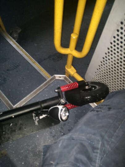 升特shengte电动滑板车 可折叠迷你休闲电动车 锂电城市电瓶车 便携代步车 前减震  续航20-30km 晒单图