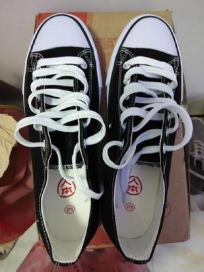 人本童鞋帆布鞋儿童帆布鞋女童男童白布鞋儿童白色球鞋宝宝单鞋学步鞋 深蓝色 30 晒单图