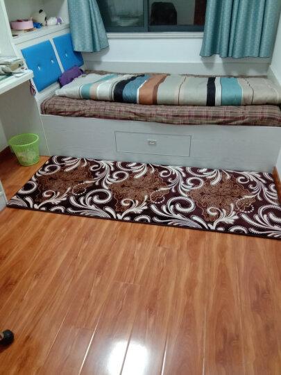 地毯客厅卧室防滑厨房机洗家用茶几地毯床边毯满铺垫法来绒 紫罗兰 定制90/平方联系客服 晒单图