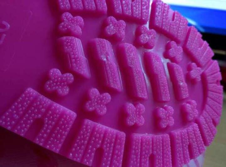 迪士尼 Disney 儿童雨鞋 男女童卡通防滑雨靴小孩胶鞋水鞋 15493 米妮粉28码 晒单图