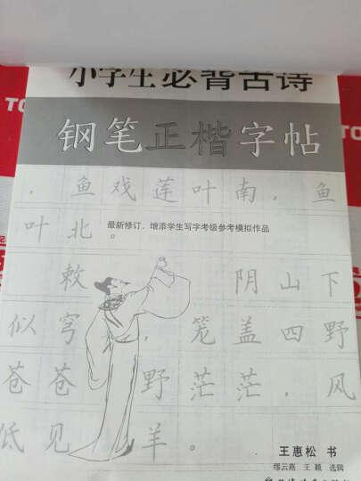 小学生必背古诗钢笔正楷字帖 晒单图