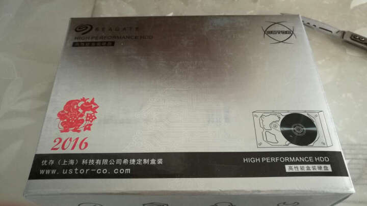 希捷(SEAGATE)ES.3系列 3TB 7200转128M SATA3 企业级硬盘(ST3000NM0033) 晒单图