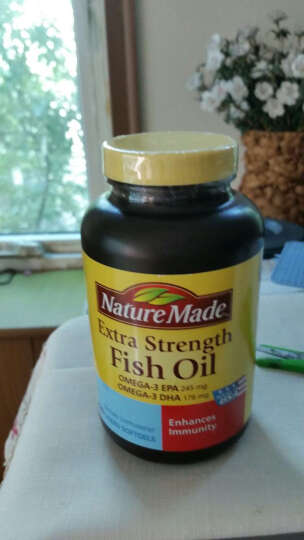天维美(Nature Made) NatureMade天维美鱼油磷脂软胶囊120粒 晒单图