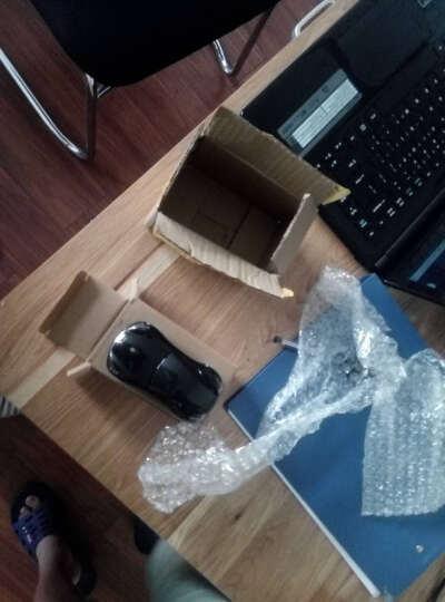 初忆(CHUYI)【赠鼠标垫】 时尚男生汽车鼠标无线光电鼠标 创意电脑笔记本汽车个性鼠标 英菲尼迪黑色 晒单图
