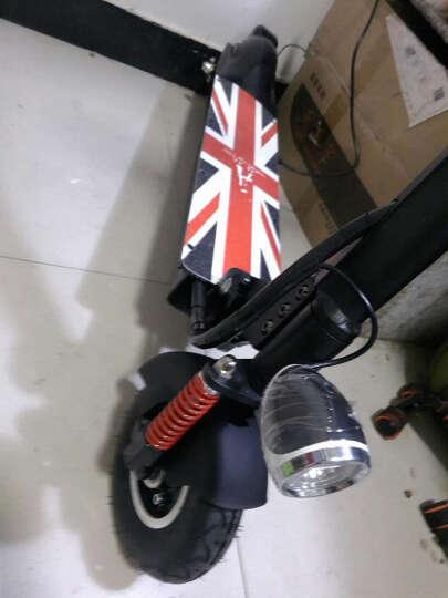 升特锂电电动滑板车 可折叠迷你 电动车 城市便携电瓶车自行车 21Ah超长续航 黑色 晒单图