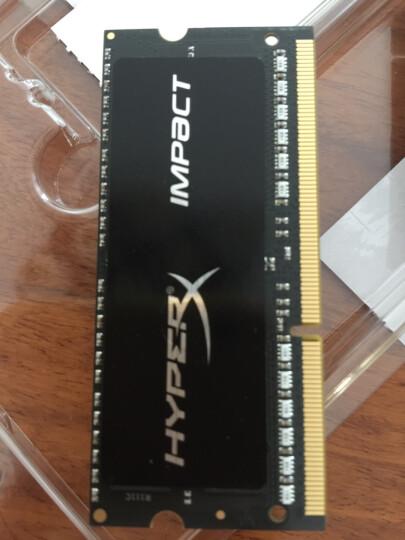 金士顿(Kingston) DDR3 1600 16GB(8G×2)套装 笔记本内存 骇客神条 Impact系列 低电压版 晒单图