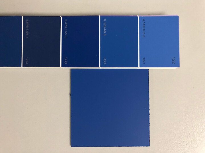 CBCC中国建筑色卡国家标准色卡GB\T18922-2008 1026色 涂料油漆色标千色卡  晒单图