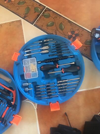 华麦斯 工具箱 家用工具套装家庭工具箱套装多功能维修木工电工工具组合五金工具套装收纳箱 战狼8双电池锂电钻套装 晒单图