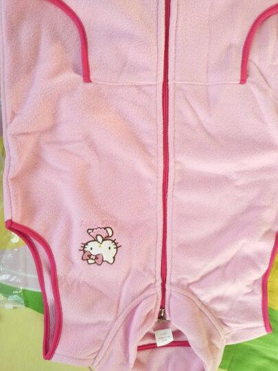 凯蒂猫(HELLOKITTY)女童马甲背心摇粒绒宝宝开衫拉链新儿童坎肩马夹KT7005粉色150cm 晒单图