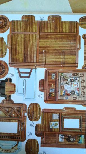 若态 3D立体拼图建筑房子DIY手工拼装木质小屋模型拼图儿童大人成年人拼图益智玩具儿童节礼物 土耳其香料市场F142(立体建筑拼图玩具) 晒单图