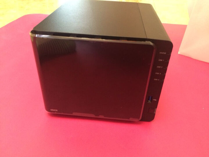 群晖(Synology)DS416 4盘位 NAS网络存储服务器(无内置硬盘) 晒单图