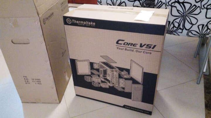 Tt Thermaltake Core V51机箱 +Pacific RL240 水冷散热套件+Riing 12厘米LED红色风扇 晒单图
