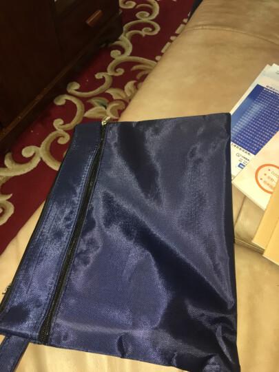 信发 TRNFA  TB-4004 双层牛津帆布资料袋文件袋公文包 手提袋 拉链资料加厚拉边袋 宣传培训收纳袋会议包 晒单图