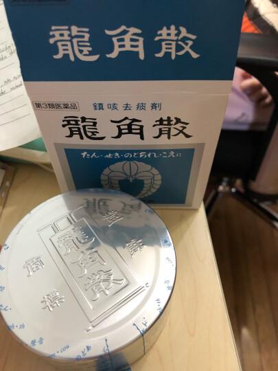 【日本直邮】龙角散薄荷味粉末制剂 喉糖袋装清咽利喉缓解喉咙不适 润喉糖 蜂蜜味盒装10条装 晒单图