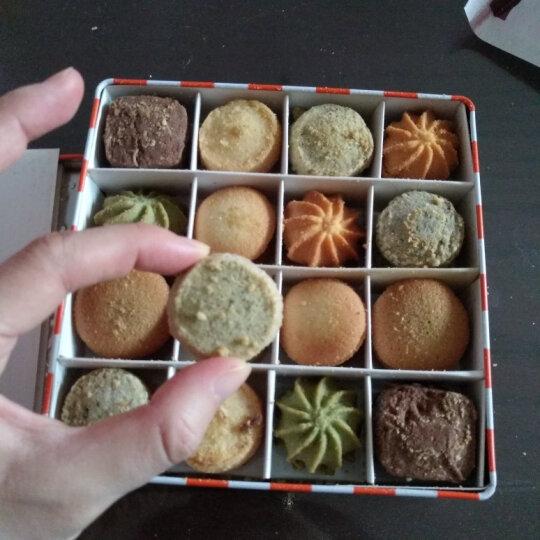 面包新语 手工曲奇饼干零食8味礼盒 165g 什锦口味(八种) 晒单图