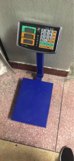 今选称重电子秤商用台秤150KG电子称台称300kg计价秤水果磅秤计数 150kg特厚1.5mm数码红字602 晒单图