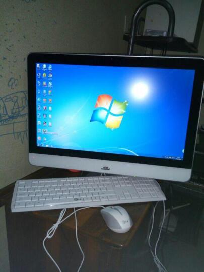 狄派 一体机电脑intel酷睿i5 i7 办公家用娱乐游戏宾馆台式机电脑 酷睿i7+8G+120G固态 23.6英寸 晒单图