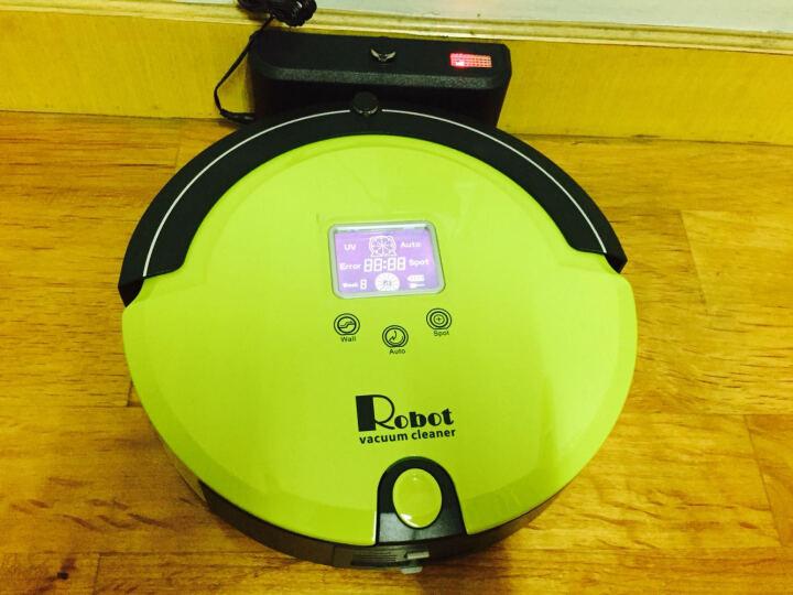 ATD 安泰迪中国红智能扫地机器人吸尘器全自动扫地机 智能充电清扫 定时预约 草绿色 晒单图