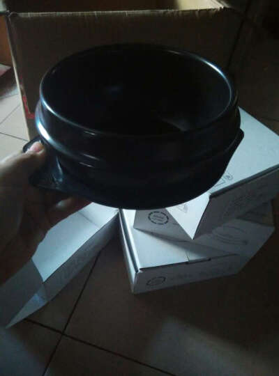 泥火匠 韩国石锅拌饭专用 陶瓷煲仔饭砂锅石锅鱼炖锅 4#石锅1200ml 晒单图