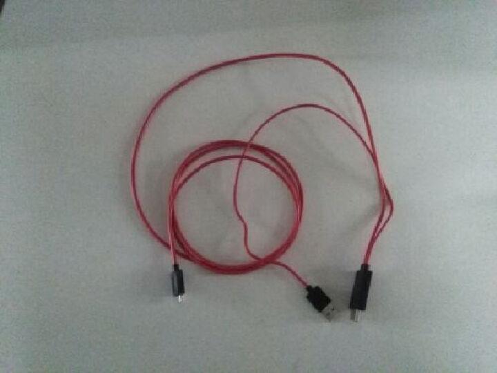 弗吉凯柏(cabos)mhl转hdmi线 适配器安卓手机micro usb连接电视高清线车载转接线 (MHL三星专用型)4米 晒单图