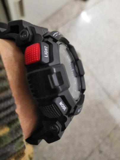 天摩(TOMO)电子手表运动手表男户外跑步登山海拔表 多功能智能计步电子表游泳防水男表军表学生手表 H1智能表-32G内存(4G全网通)黑蓝 晒单图