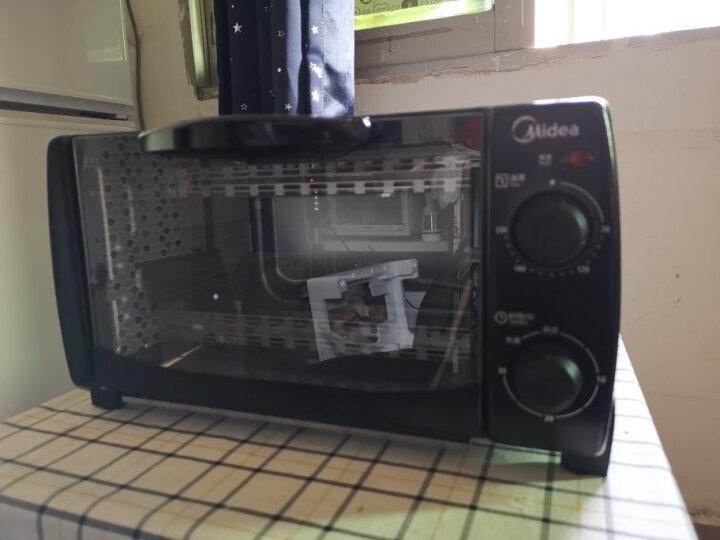 美的(Midea) 烤箱家用 10L容量 迷你小烤箱 T1-L108B黑色 晒单图