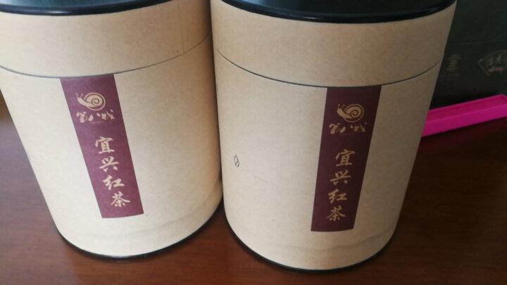 宜兴红茶茶叶礼袋装实惠自饮装 赛正山小种茶叶宜兴特产阳羡茶 宜兴人家用茶 500g礼袋实惠装 晒单图