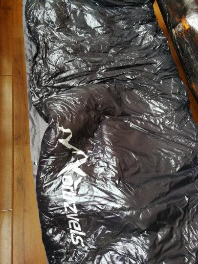 北旅(NORTRZVELS) 羽绒睡袋户外登山露营冬季睡袋/吊床保暖办公午休成人单人睡袋 暗黑900g+睡垫(送内胆) 晒单图