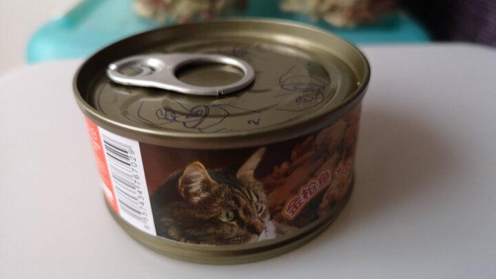 泰国进口Mio9猫罐头宠物猫粮猫湿粮金枪鱼+蟹柳85g*24罐整箱装 晒单图
