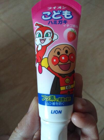 狮王(Lion)面包超人牙刷1.5-5岁(单支) 颜色随机 晒单图