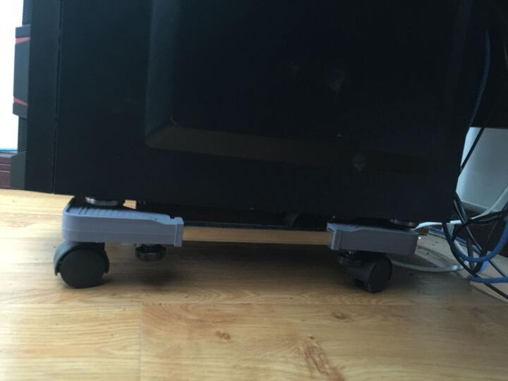 空气净化器移动支架底座台式电脑主机架机箱托架加高底架可调节大小 新型灰色 7厘米高长43-55和宽22-34厘米(机箱架) 晒单图