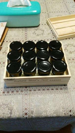 【燕窝 】姿美堂即食燕窝礼盒12瓶孕妇燕窝补品送礼 12瓶蓝瓶礼盒装 晒单图