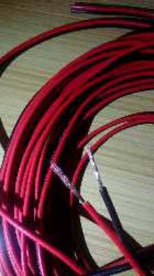 英科通 红黑线 喇叭线  电源线 监控线  LED线  国标纯铜RVB足米 铜 2*1.0 30米 晒单图