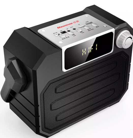 纽曼(Newmine) 手提广场舞音响 低音炮音箱蓝牙便携式户外拉杆移动扩音器插卡收音机mp3播放器 A110黑色 标配 晒单图