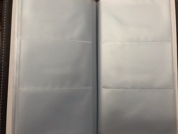 得力(deli)90袋(180枚)皮面摊开式名片册 男女商务名片夹 棕色5792 晒单图