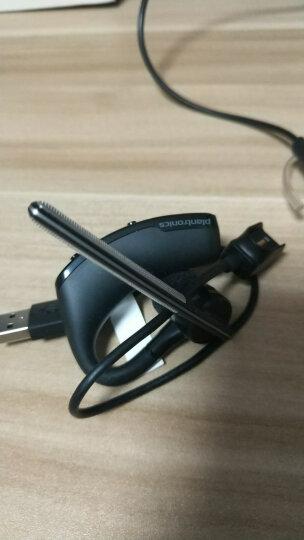 缤特力(Plantronics)传奇蓝牙耳机 Voyager Legend 商务单耳蓝牙耳机 通用型 耳挂式 黑色 晒单图