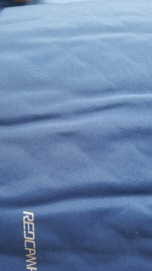 红色营地 折叠坐垫便携小 户外加厚公园地垫单人防潮坐垫 随身折叠垫自动充气坐垫 蓝色 晒单图