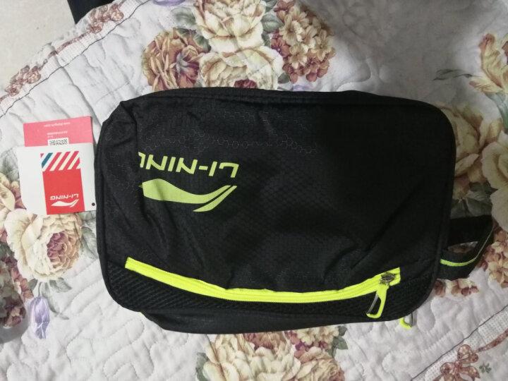 李宁(LI-NING) 泳包 干湿分离便携防水包游泳包 男女运动健身大容量双层收纳包 干湿分离750黑色 晒单图