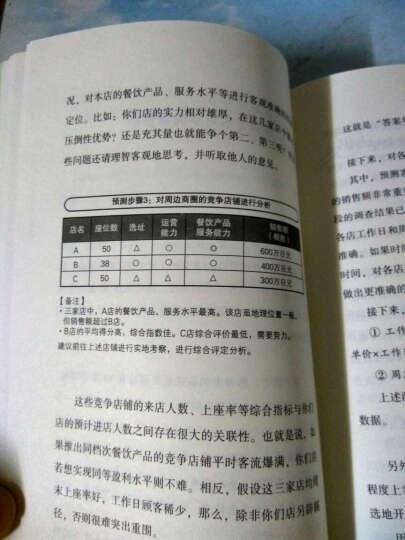 服务的细节032:餐饮店超低风险运营策略 晒单图