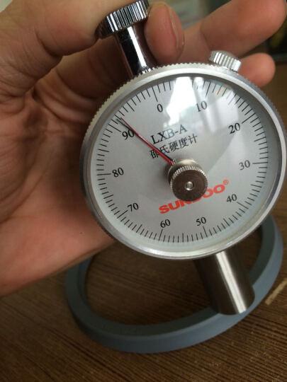 山度邵氏橡胶硬度计LX-A/LX-C/LX-D硬度计单针双针机台硫化橡胶塑料海绵亚克力泡沫 SLD-D数显邵氏测试台架 晒单图