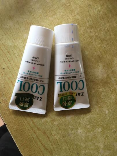 狮王(LION) 日本进口牙膏珍珠酵素美白去渍牙膏组合 百花薄荷130g+鲜果薄荷130g 晒单图