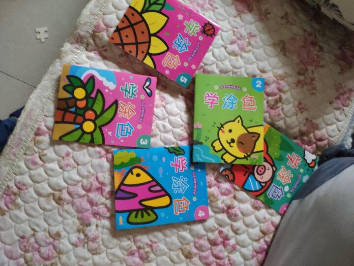 小童孩子涂涂画画本(8册)儿童图画填色本宝宝涂鸦学画画书涂色本早教启蒙0-3-6岁学龄前 晒单图