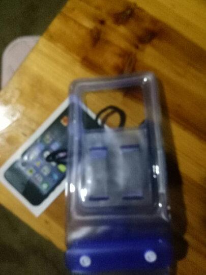 信天游 手机防水袋密封袋潜水套5寸6寸内小米oppo苹果手机套 B款蓝色 5寸内 晒单图